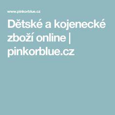 Dětské a kojenecké zboží online