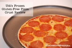 Udis GF Pizza Crust Review and GF Kids Tips {Gluten Free Monday #14}