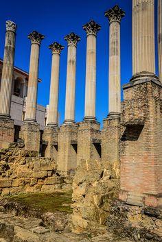 Roman Temple Ruins of Córdoba Spain (1st Century AD)