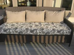 Corded Patio Cushions - Galena, Ohio