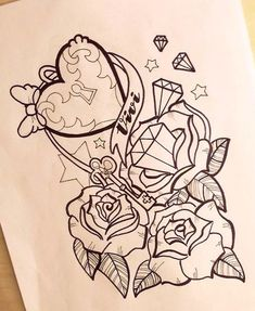 Girly Anchor Tattoos | girly anchor tattoo drawings - Popular Tattoo Design