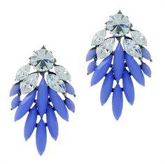 Purple crystal leaf earrings- Buy yours here for £23.50 >> http://www.pearlandbutler.co.uk/728-p/purple-crystal-leaf-earrings.aspx