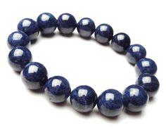 8mm Blue Sapphire Stretch Bracelet, Blue Sapphire Bracelet, Mens Beaded Bracelet, Bead Bracelets for Women, September Birthstone Bracelet by ElegantJewelryRMM on Etsy https://www.etsy.com/listing/234744562/8mm-blue-sapphire-stretch-bracelet-blue