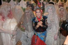 Bette 2015 Midler Halloween Ball, Waldorf Astoria, NYC Bette Midler and Bridal Party