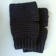 Fingerless gloves Mens Large, Alpaca chunky blend Charcoal Mens gloves with rib,present, gifts for him,Birthday,Fathers day by DizzyBees on Etsy
