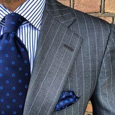 Great striped blazer!