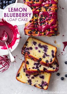 Lemon Blueberry Loaf, Blueberry Cake, Flourless Desserts, Flourless Chocolate Cakes, Lemon Dessert Recipes, Cake Recipes, Milk Chocolate Chip Cookies, Dairy Free Cheesecake, Lemon Drizzle Cake