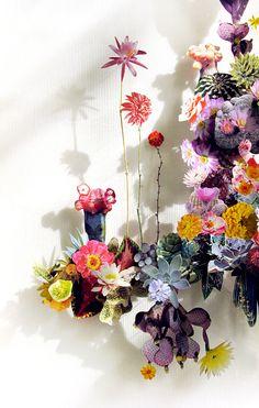 Beautiful | Anne Ten Donkelaar | http://anneten.nl/works/13-flower-constructions