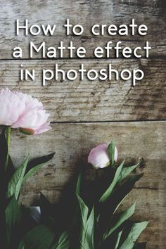 Photography Tips | How to create a matte effect on your photos in Photoshop and a free photoshop…