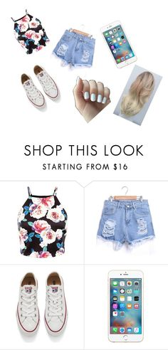 """""""Where is summer....?"""" by abbygurl9090 on Polyvore featuring Converse, women's clothing, women, female, woman, misses and juniors"""