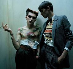 Stella Tennant & James Crewe by Tim Walker for Vogue Italia July 2016 | The Gorgeous Daily