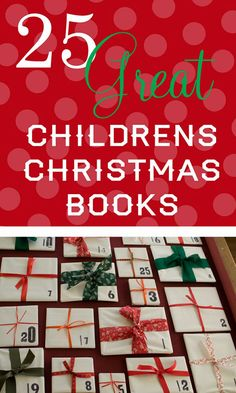 Start a new tradition: Wrap up your Christmas books and open one a night to read as a countdown to Christmas Day!