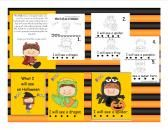 Halloween Emergent reader product from Mrs-Rs-Sweet-Seconds on TeachersNotebook.com