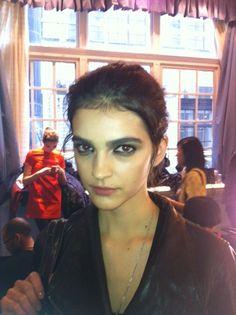 Bold brows at Roksanda