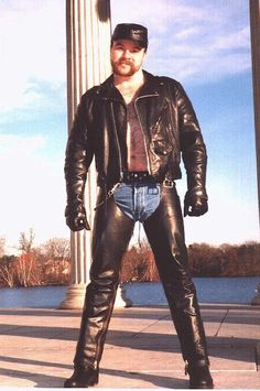 Men In Leather Chaps