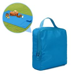 """Sarki Outdoor Blanket 79""""x59"""" Waterproof Portable Mat for Hiking Picnic Beach Travel Picnic Basket. LARGE OVERSIZED:Extra large size offers enough room to you and your family or friends which enjoy your leisure time.Unfoled blanket measures 59x79 inch. CONVENIENTLY COMPACT TOTE:Easily folds into compact zipped tote for easy carrying and storage. COMFORTABLE&TOUGH BLANKET:Made of oxford fabric, will not irritate your skin and provide you extra comfort.Tight sewing design can use it for…"""