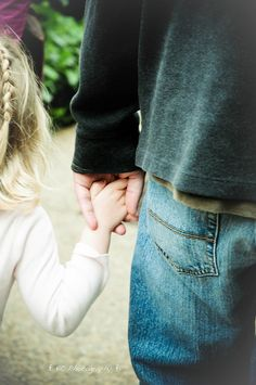 Holding hands with your daughter is like nothing else on earth.