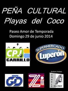 Peña Cultural Playas del Cocohttp://www.desktopcostarica.com/eventos/2014/pena-cultural-playas-del-coco
