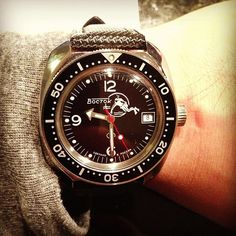vostok amphibia | ... military dive watch. #vostok #amphibia | Flickr - Photo Sharing
