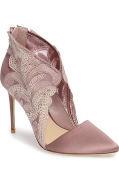 Imagine by Vince Camuto Obin Lace Detailed Pointy Toe Pump (Women) available at #Nordstrom