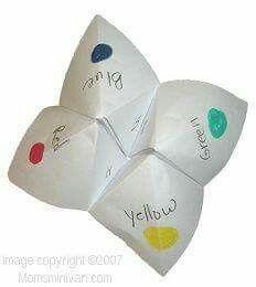 Fortune tellers!