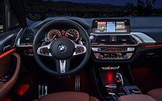 تحميل خلفيات الداخلية, BMW X3, 4k, 2018 السيارات, لوحة القيادة, السيارات الألمانية, BMW Bmw X3, Bmw Compact, Bmw Interior, Interior Design, Cars Youtube, Bmw Autos, Drag Bike, 2017 Bmw, Car Mods