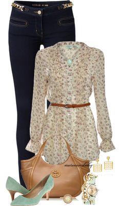 """""""Polyvore #Fashion Spring #fashion"""