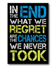 Don't Regret Gallery-Wrapped Canvas | zulily