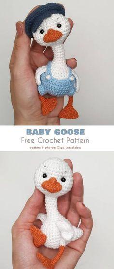 Baby Goose Free Crochet Pattern