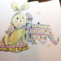 Pintando Painting TcnicaTechnique AquarelaWatercolor