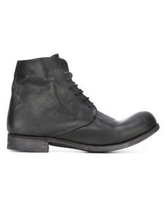 A Diciannoveventitre | Black Lace-up Workboots for Men | Lyst