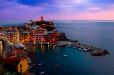 Vernazza, Cinque Terre, Italy ~ sweetness...I so want to go!