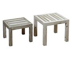 2 Tables basses JESPER - gris