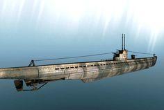 Submarino alemán.