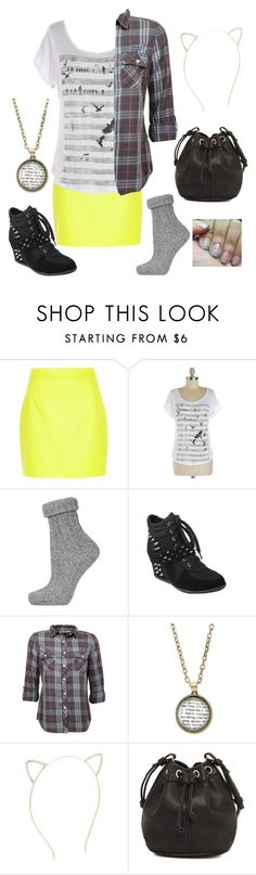 """Untitled #553"" by gracie7557 ❤ liked on Polyvore featuring River Island, Topshop and MANGO"