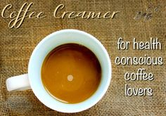 Leaner Creamer for Health Conscious Coffee Lovers