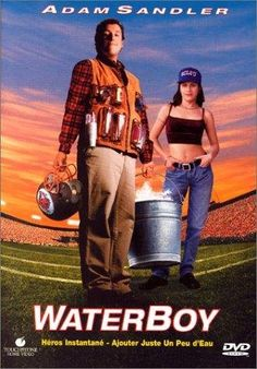 The Waterboy (1998). Just watched this movie for the millionth time, but it never gets old. It's hilarious.