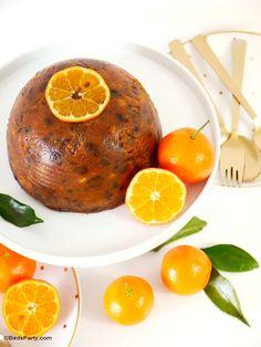 Downton Abbey Inspired British Christmas Pudding Recipe