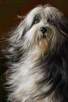 Dog Portrait♥♥FAB!