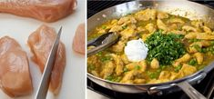 Kura na kari - Receptik. Thai Red Curry, Food And Drink, Chicken, Ethnic Recipes, Turmeric, Cubs