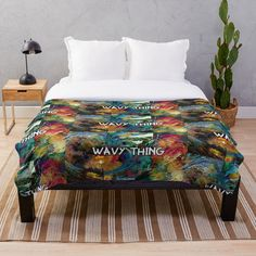 Buy your Wavy Thing 🌊 blanket now by Rap artist / Designer Liquidflow! Super colourful and comfy style to your bedroom! Lets live! Duvet Bedding, New Year Celebration, Blanket Cover, Edge Design, Fourth Of July, Fireworks, Comforters, Cool Designs, Comfy
