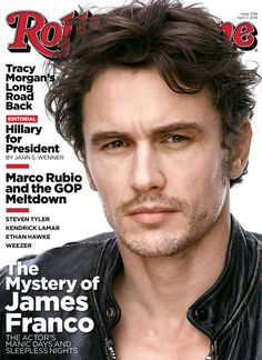 James Franco covers the April 7, 2016 issue of Rolling Stone.