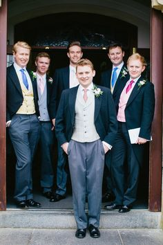 Incredibly Dapper Groomsmen by Gillian Higgins Photography