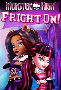 Monster High Fright On Movie. Monster High is the model high school for monster integration; a melting pot where all monsters can let their fangtastic freak flags fly! But when other monster schools are merged with . Kid Movies, Movies To Watch, Movie Tv, Movies Free, Movies 2019, Cartoon Movies, Vampire School, Spring Break, Draculaura