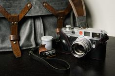 Wotancraft Scout, Leica M6 classic, LSM Summarit 50mm f1.5 and Portra 160.Out to do some wonderful portraits!