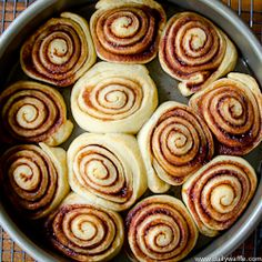 cinnamon buns with Trader Joe's pizza dough...a possible treat one morning!