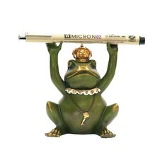 For Your Boss Or The Executive Who Has Everything, The Sterling Superior Frog…