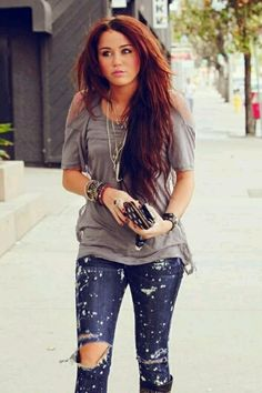 Miley Cyrus Red hair <3