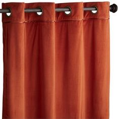 Plush Curtain - Clay    Pier One