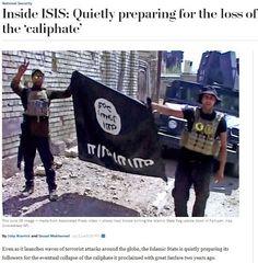 Το 'Ισλαμικό κράτος' προετοιμάζει τους οπαδούς του για την ήττα του Χαλιφάτου